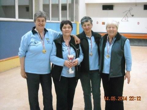 Pokalno prvakinje - BK Kanal