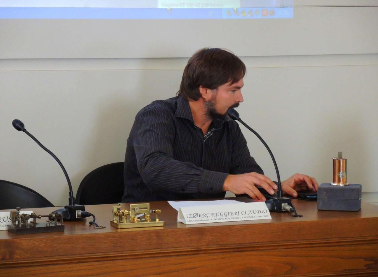 Claudio IZ0KRC parla del semiautomatico e del centenario della fusione tra Vibroplex e Mecograph