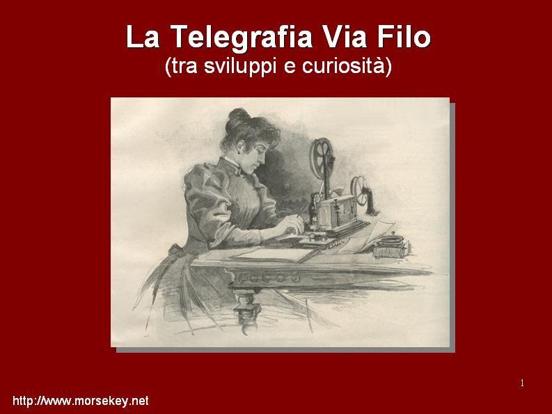 Storia del Servizio Telegrafico Italiano