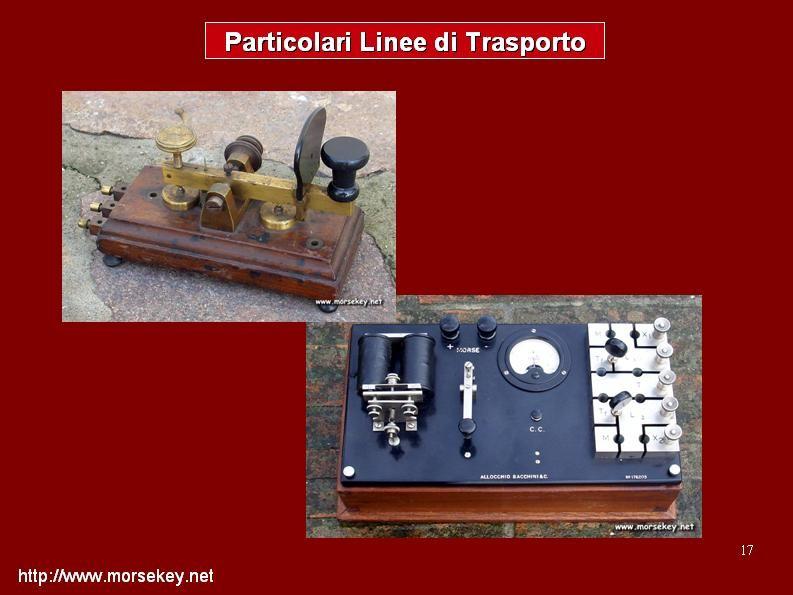 Apparecchiature e linee di trasporto.