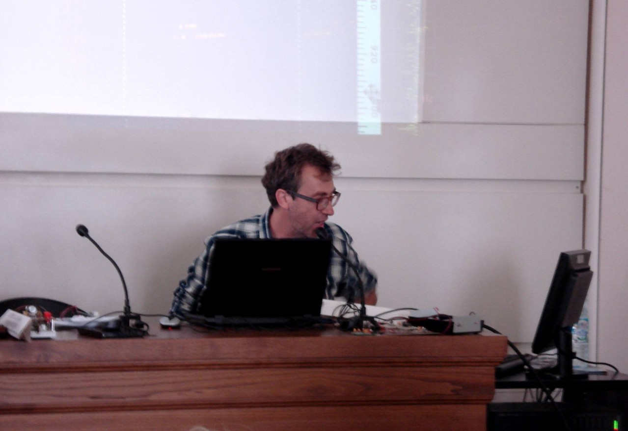 Andrea IW0HK presenta il QRSS o telegrafia lenta