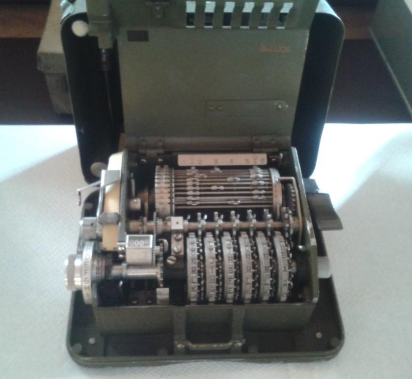Macchina criptatrice M-209-HAGELINE - Gen. F. Cremona