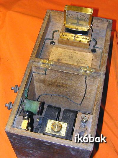 Cassettina completa utilizzata dai gurdiafili per i test di linea