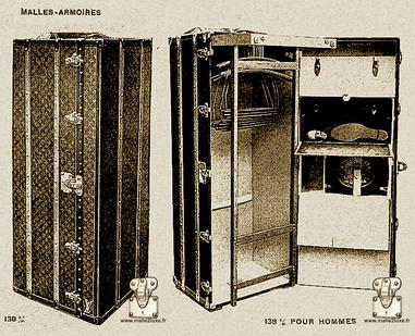 malle 138 cm wardrobe Louis Vuitton Page 32 - Louis Vuitton 1914 Catalog - wardrobe trunk