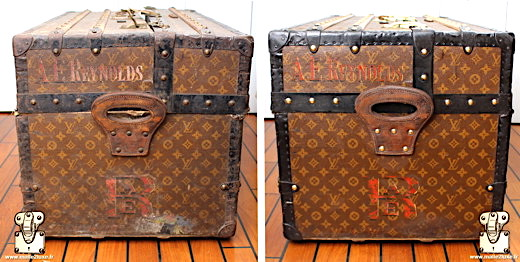 Malle ideale Louis Vuitton toile monogramme