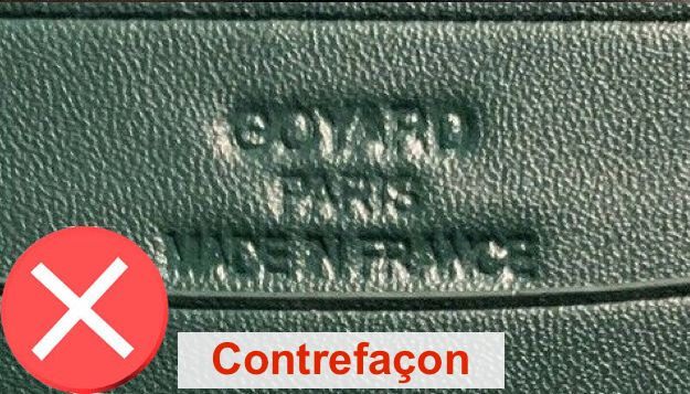authentique sac goyard contrefacon