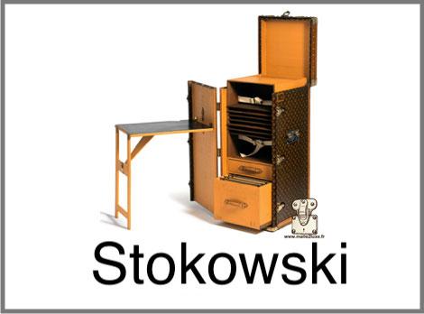 Malle bureau Leopold Stokowski Louis Vuitton