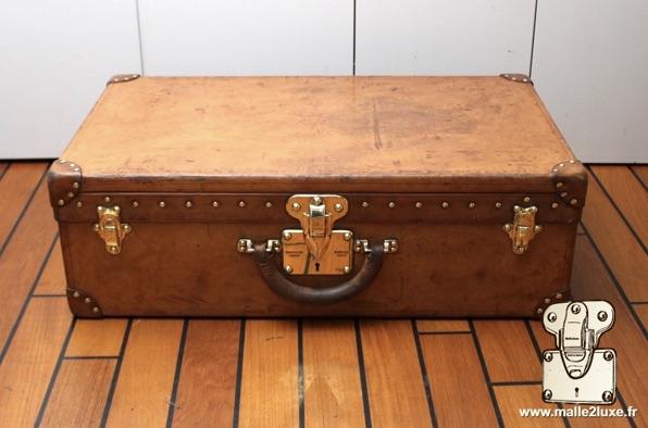 serrure de malle ancienne louis vuitton valise en cuir