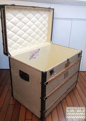 old collector's trunk