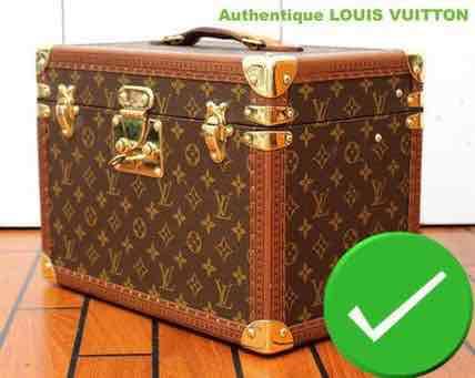 7d4a9f0a966a Faux et Contrefaçon reconnaitre les authentiques - Malle Louis Vuitton
