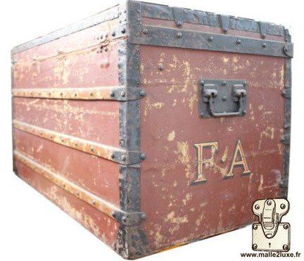 rotten Louis Vuitton mail trunk