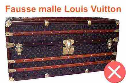 fake trunk Louis Vuitton