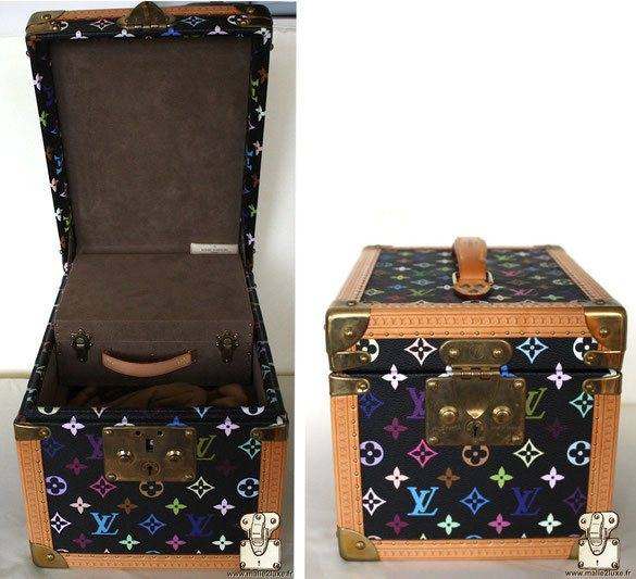 Boîte à flacons Louis Vuitton vanity Murakami