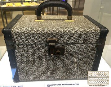 malle vuitton toile tweed trunk