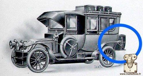 Car trunk Louis Vuitton expert malle2luxe