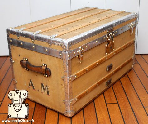 Very best qualité trunk vintage vuitton