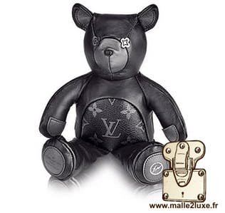doudou peluche Louis Vuitton ours noir
