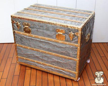 restoration of a louis vuitton trunk