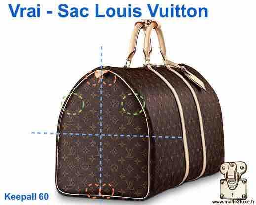 Faux et Contrefaçon reconnaitre les authentiques - Malle Louis Vuitton 1f14d21e94a