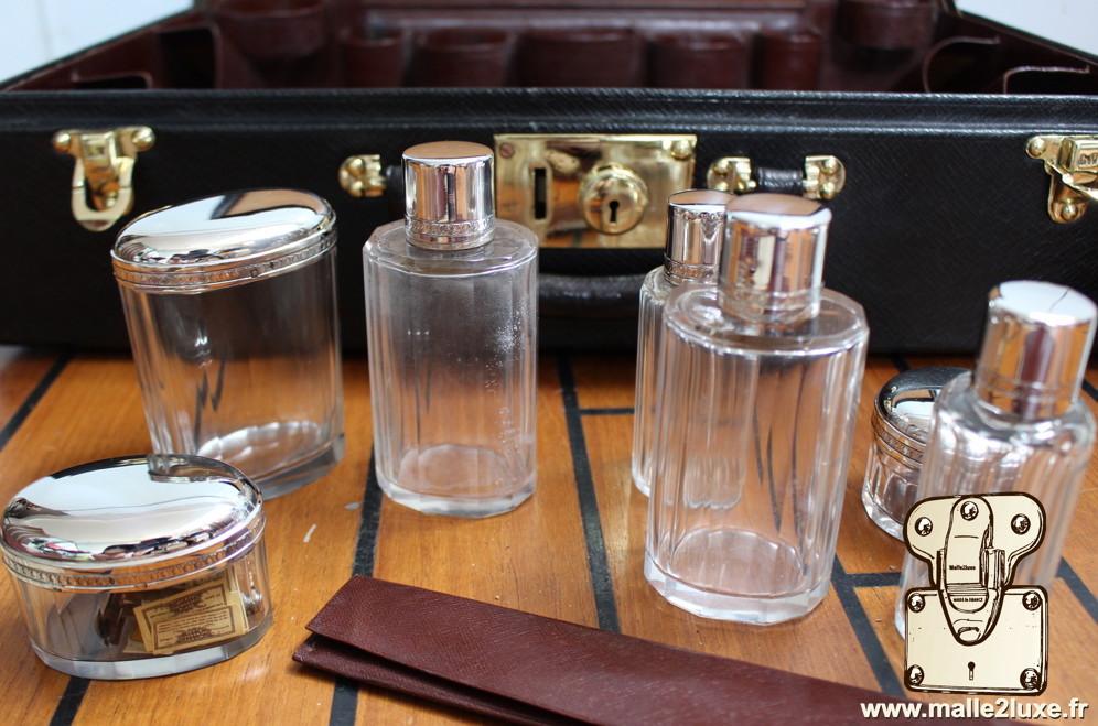 flacon cristal et argent massif Louis Vuitton
