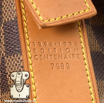 Edition centenaire Louis Vuitton 1896 1996