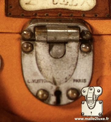 Louis vuitton trunk automobile lock