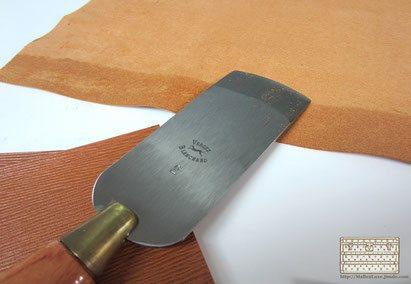 parage des pieces de cuir ancienne