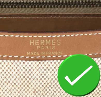 commande vintage hermes cousu machine