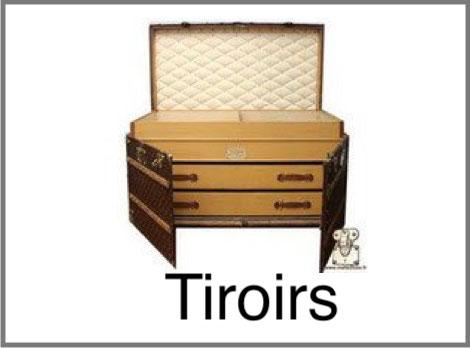 Malle tiroirs Louis Vuitton
