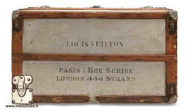 Malle Louis Vuitton la plus cher au monde, record du monde