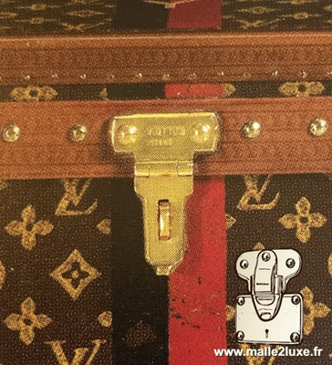 Louis vuitton egype trunk lock