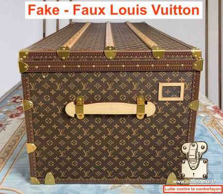 plus cher contrefacon malle louis vuitton