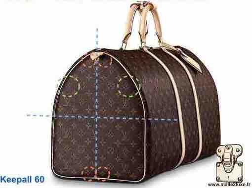 RULE N ° 3: LOUIS VUITTON UNCUT CANVAS fake bag