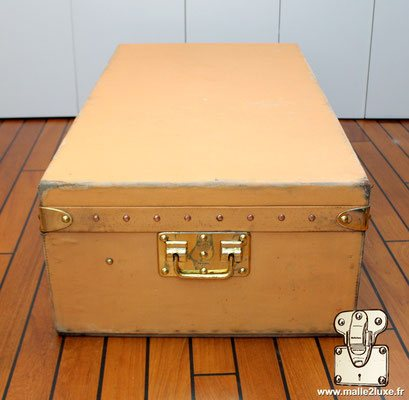 brass trunk vuitton