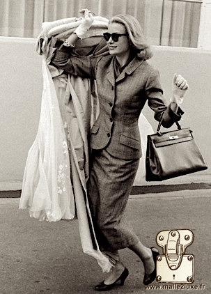 Grace kelly mythique princesse de monaco qui donne son nom a un sac a main hermes