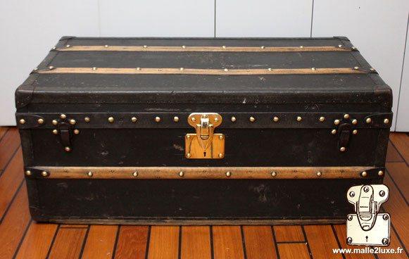 malle aero toile vuittonite noir 1921 louis vuitton