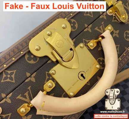 serrure de malle contrefacon Louis Vuitton
