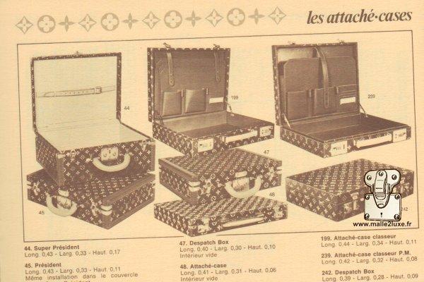 Despatch box Louis Vuitton valise catalogue Louis Vuitton 1984