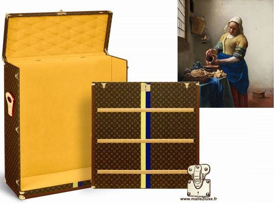 Malle a tableau Louis Vuitton Vermeer 2018 by Jonathan Knafo
