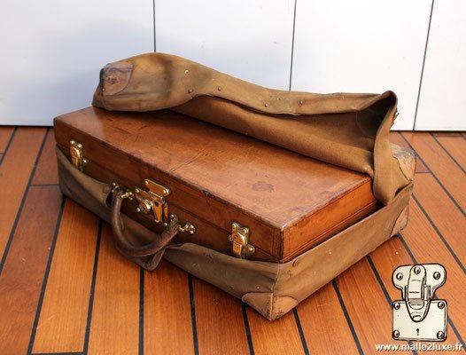 valise cuir vuitton a vendre circa 1920