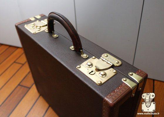Double serrure valise pour officier Louis Vuitton