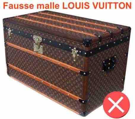 fausse Malle Louis Vuitton