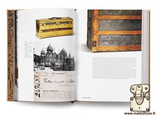 Livre 100 malles de légende Louis Vuitton