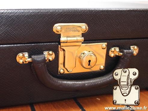 serrure poussoir valise Louis Vuitton valise ancienne