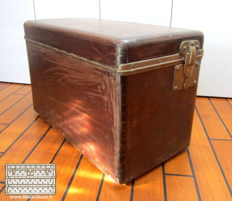 Louis Vuitton solid wood trunk tool box