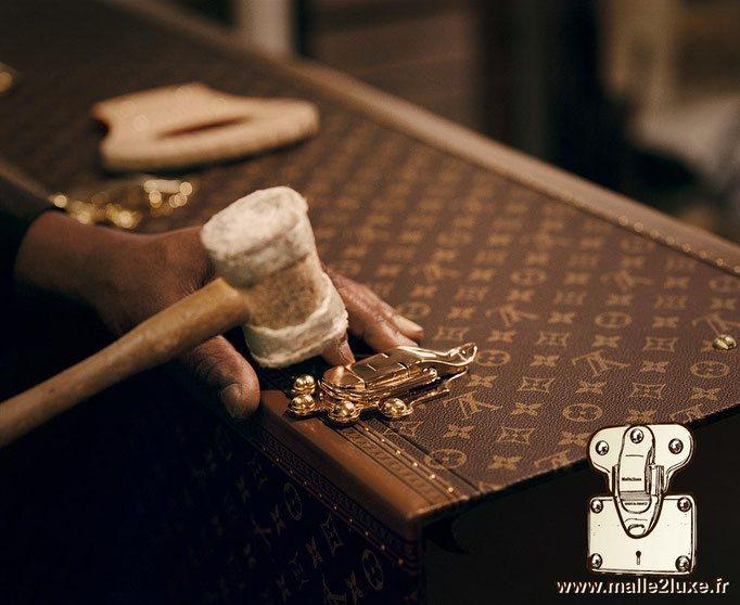 fabrication d'une malle de luxe