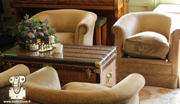 Salon a thé Louis Vuitton maison de famille
