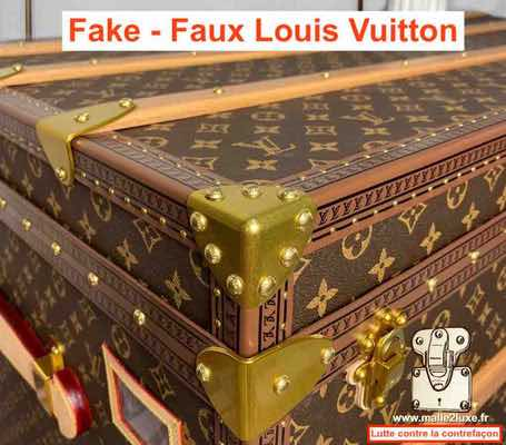 trunk made in china Louis Vuitton