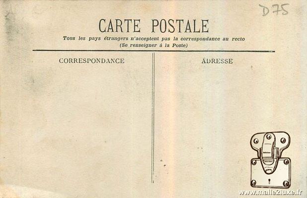 Robert Wilson l'Homme Cible Autour du Monde Avec sa Malle Vuitton Carte postale