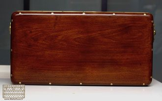 top of the wooden chest Louis Vuitton